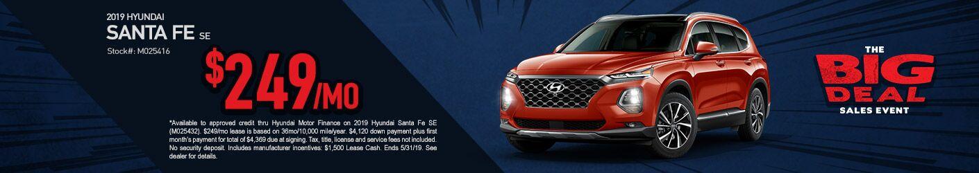 May 2019 Hyundai Santa Fe