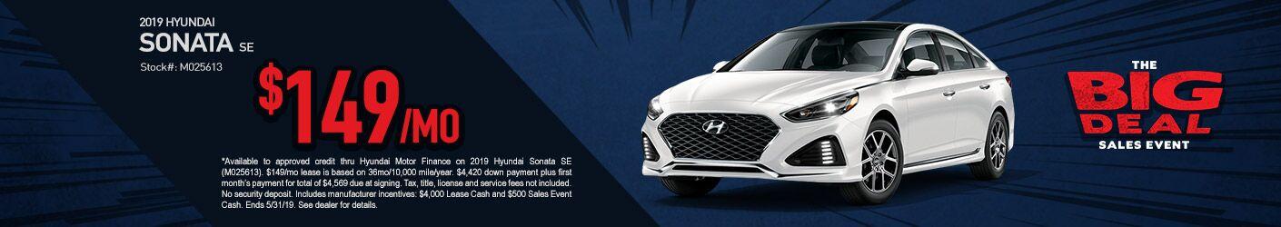 2019 May Hyundai Sonata