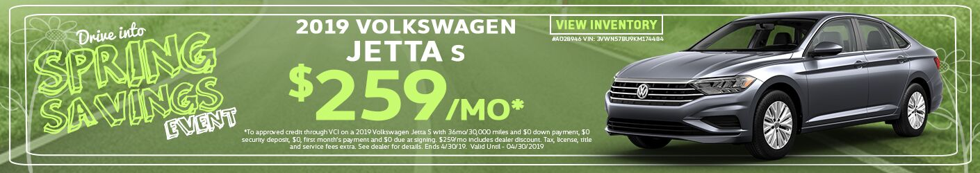 2019 Volkswagen Jetta Spring