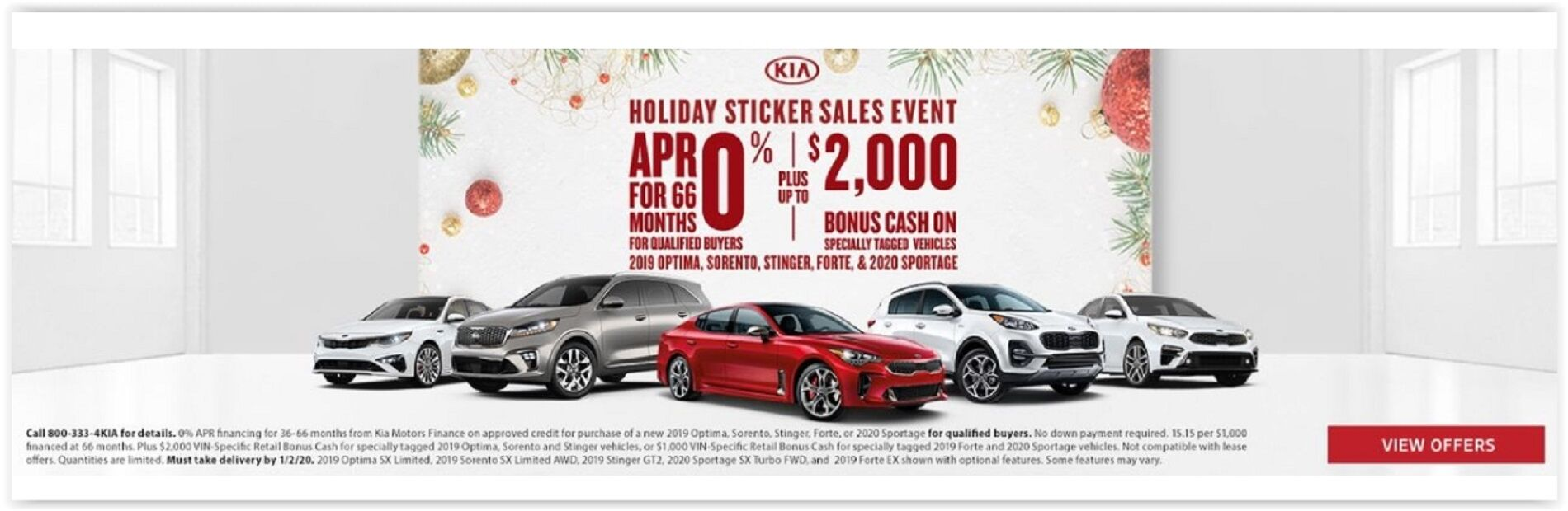 Kia Holiday Event