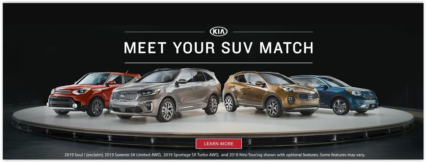 Meet Your SUV Match at Auffenberg Kia of Cape Girardeau