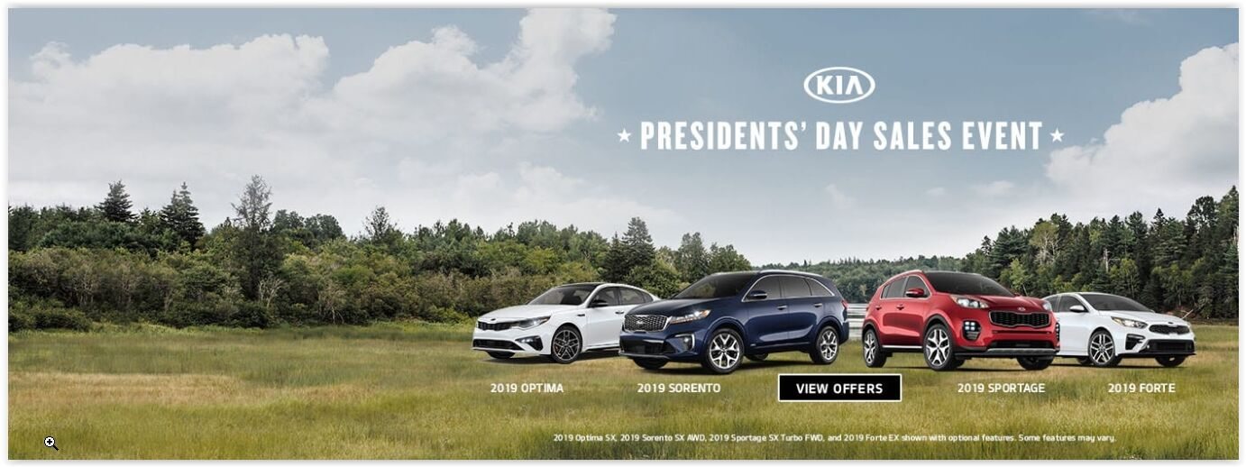 KIA's President's Day Sale