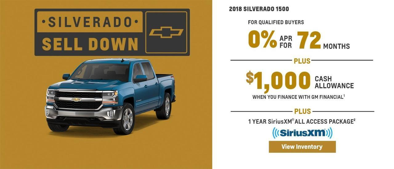 Chevy Silverado Sell Down at Farmington