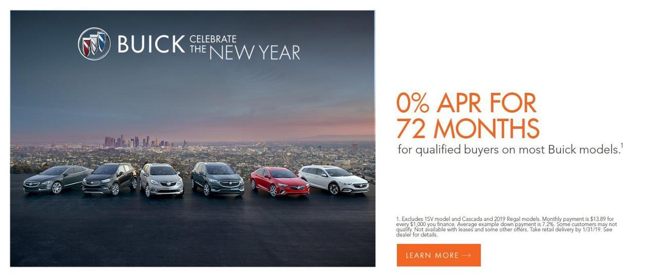 Buick GMC 0% for 72 at Auffenberg Chevrolet Buick GMC of Farmington