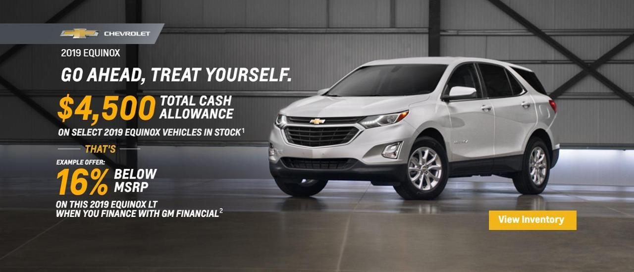 Ready for a New Equinox?  Auffenberg Chevy Buick GMC of Farmington