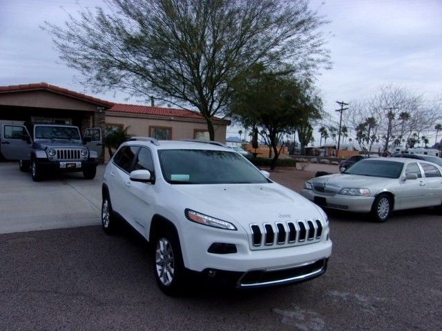 2016 Jeep Cherokee Limited (REDUCED) 1 OWNER