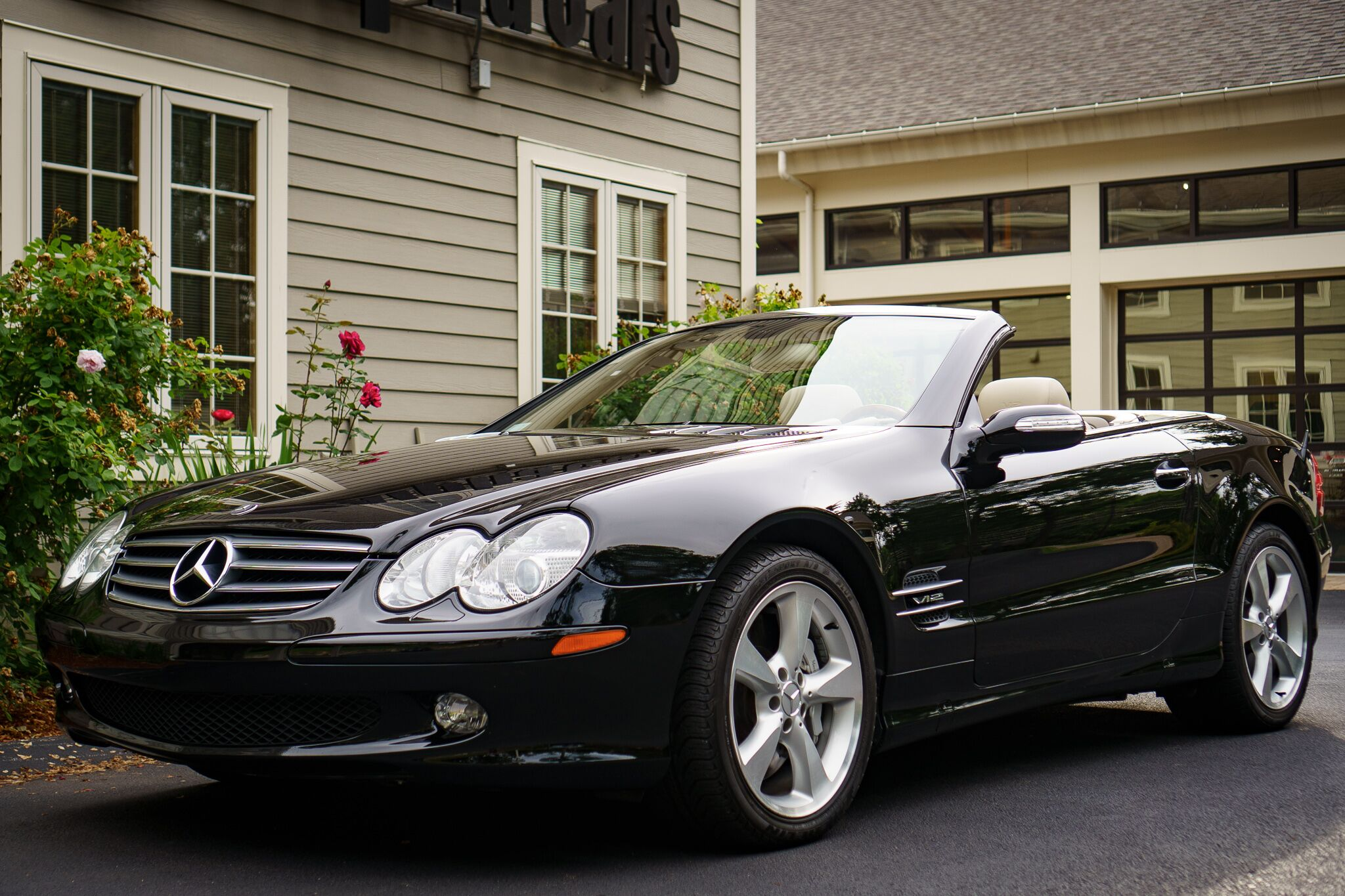 2005 Mercedes-Benz SL600 Roadster