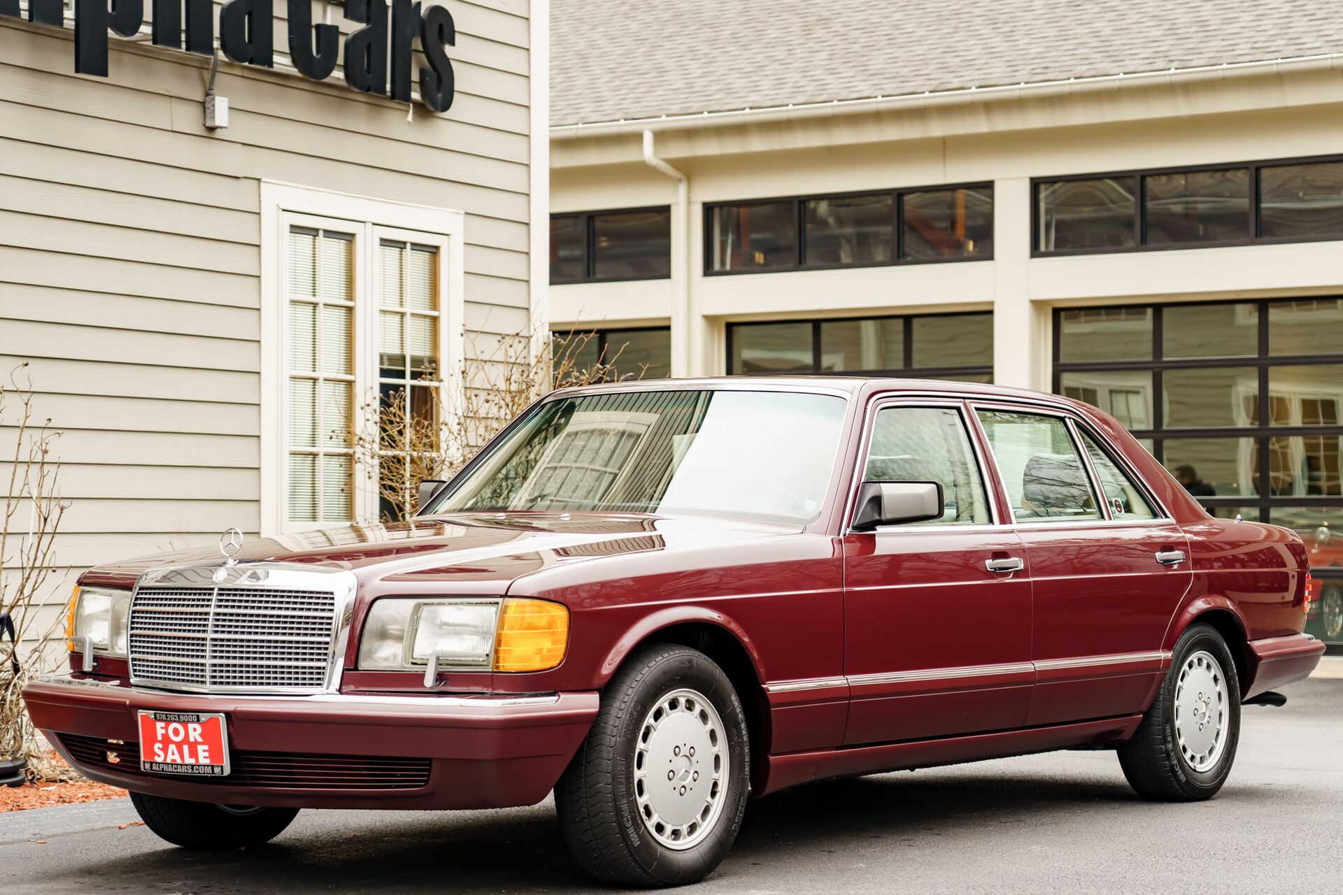 1991 Mercedes-Benz 420 SEL Second Series W126.035