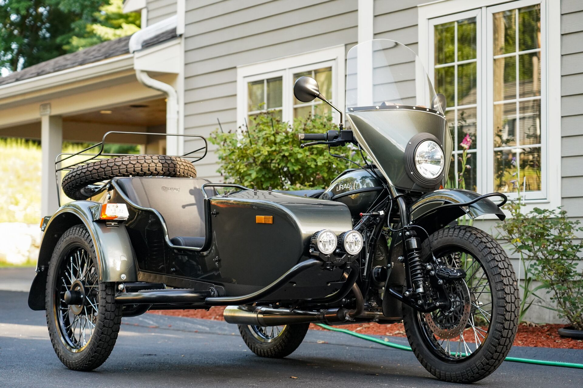 2019 Ural Gear Up Cascade Green