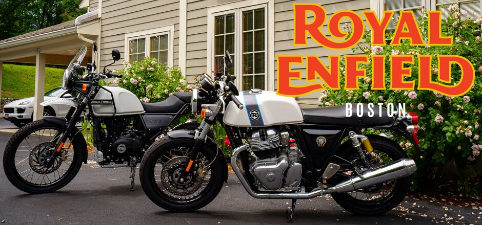 Royal Enfield's Outfront