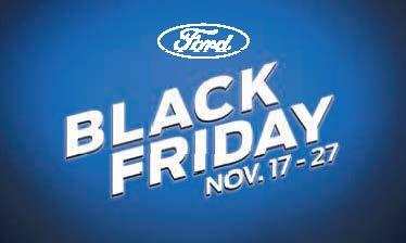 2018 Ford Black Friday Event