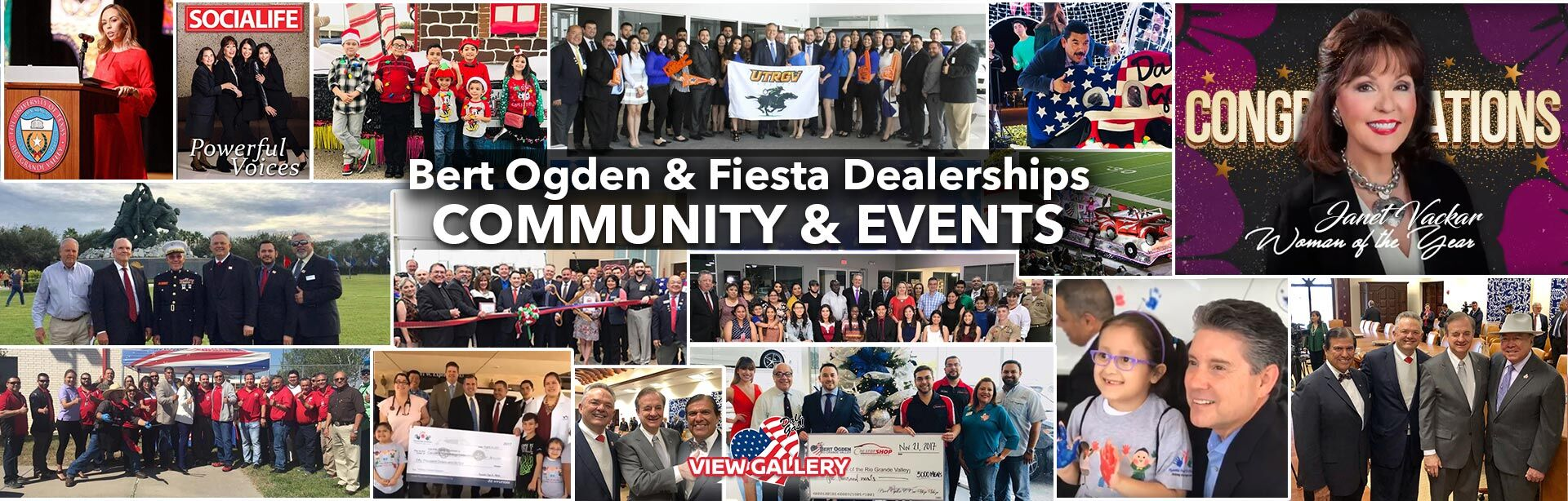 Bert Ogden Mazda Mission loves our Community