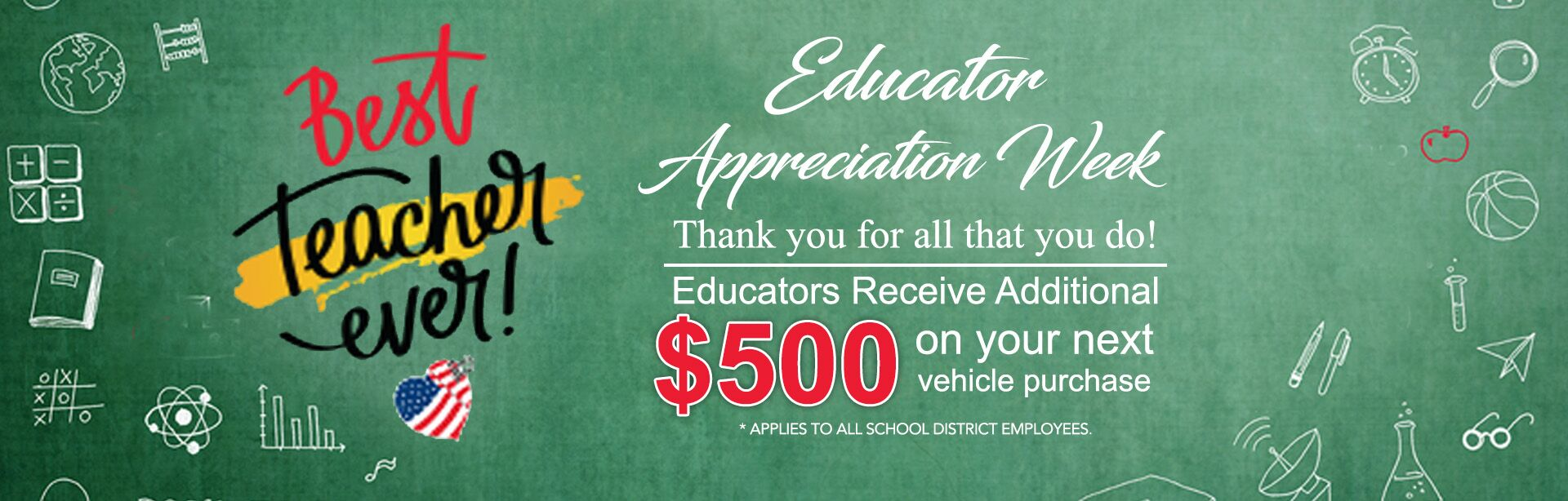 Educator Appreciation