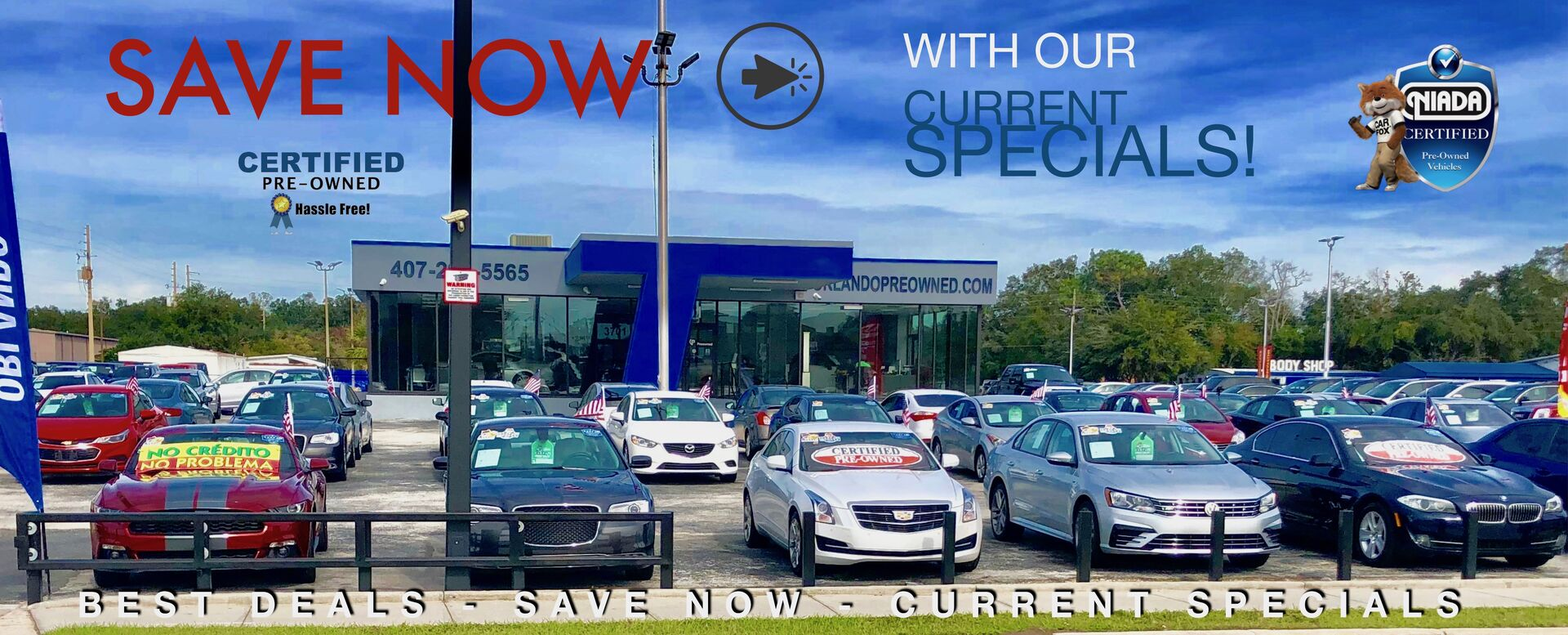 Used Cars in Orlando Sale - Current Specials