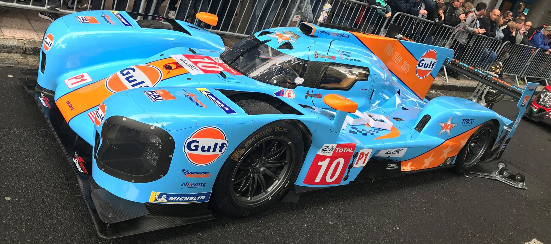 Dragon Speed Gulf Livery 2019