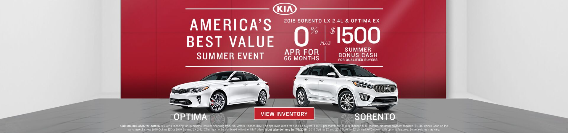 Americas Best Value SSE Optima-Sorento V2