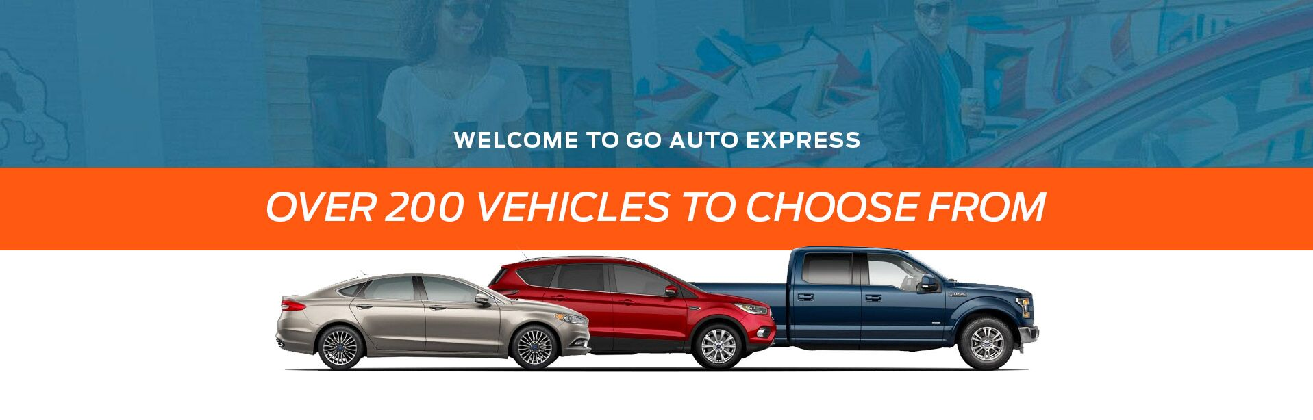 Over 200 Vehicles at Go Auto Express