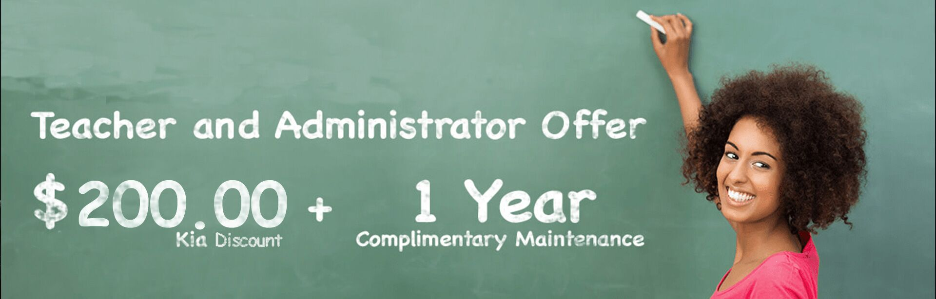 Teacher and Administrator Offer