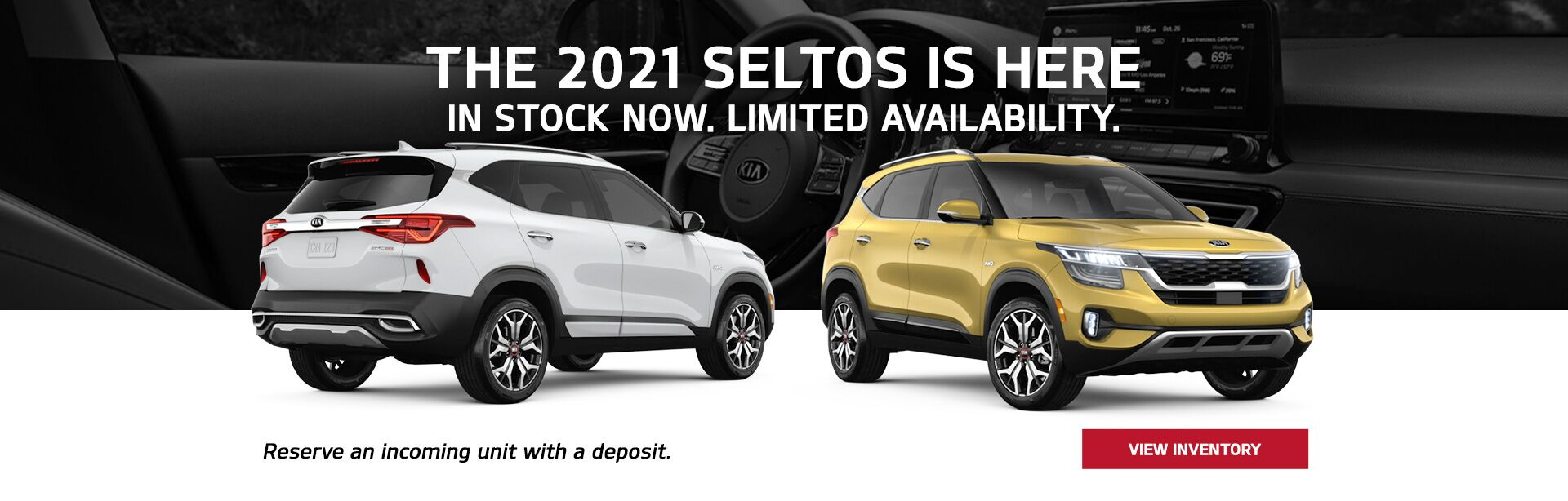 The All-New 2021 Kia Seltos is here!