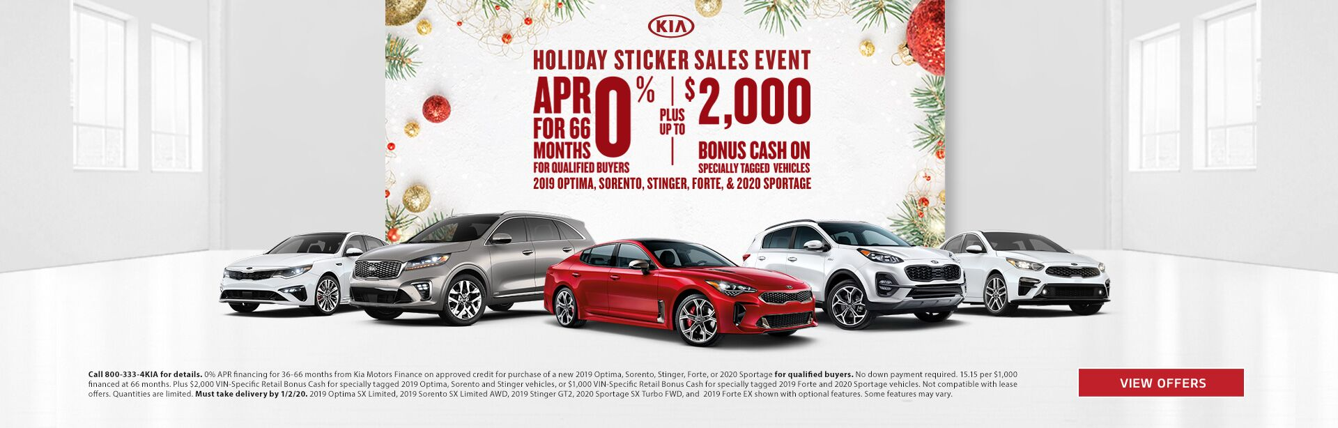 Holiday Stickers Sales Event