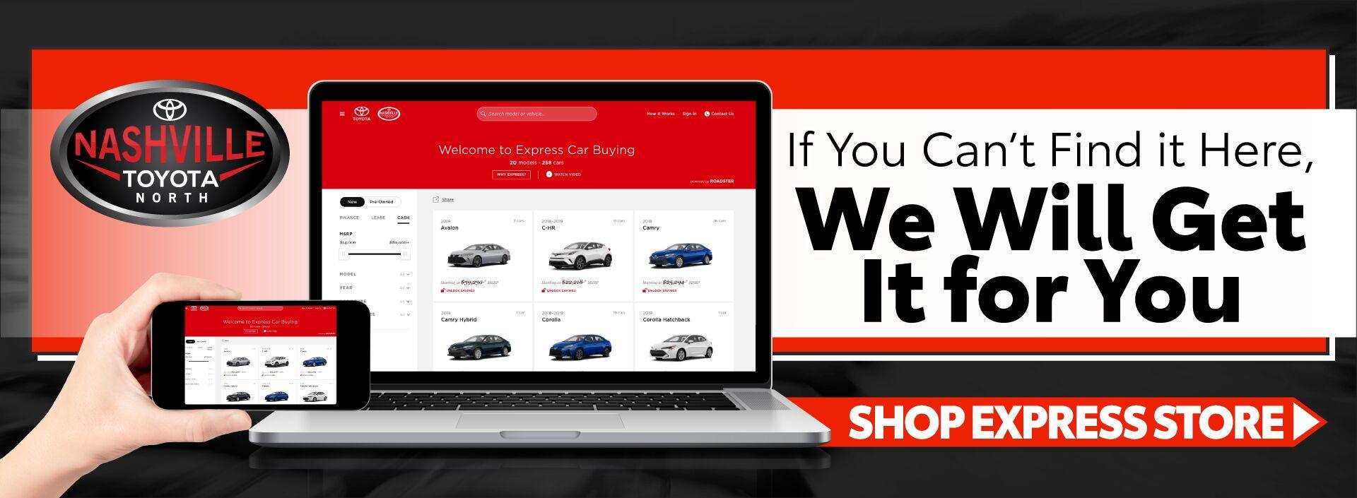 Your Nashville Tn Toyota Amp Used Car Dealership