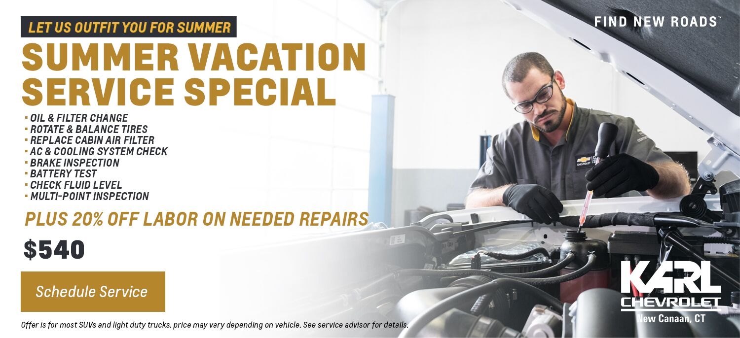 Summer Vacation Service Special