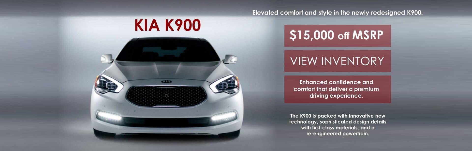 K900 $15k Off MSRP