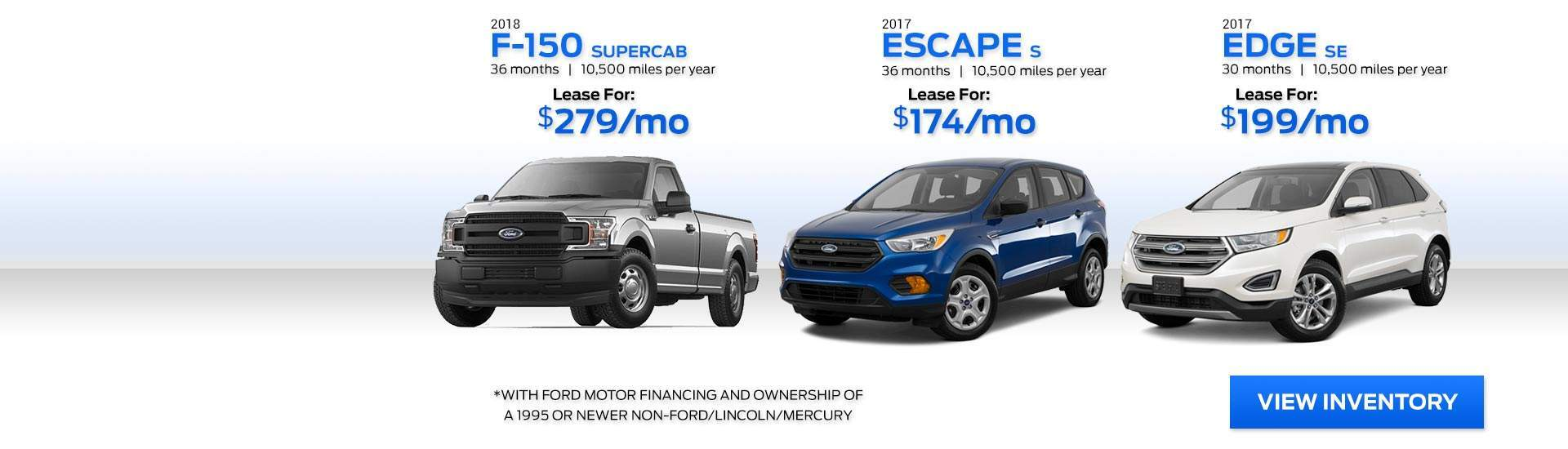 Seelye Ford November Specials