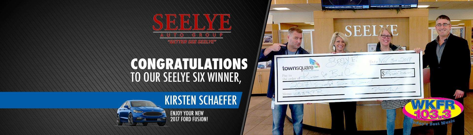 Seelye Six Winner