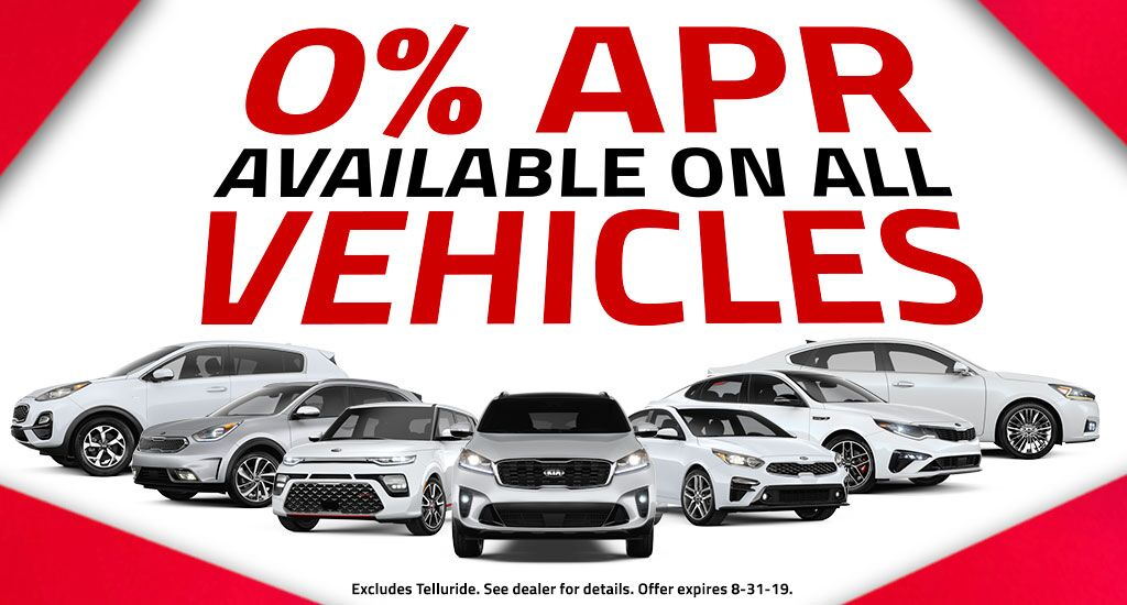 0% apr on all vehicles