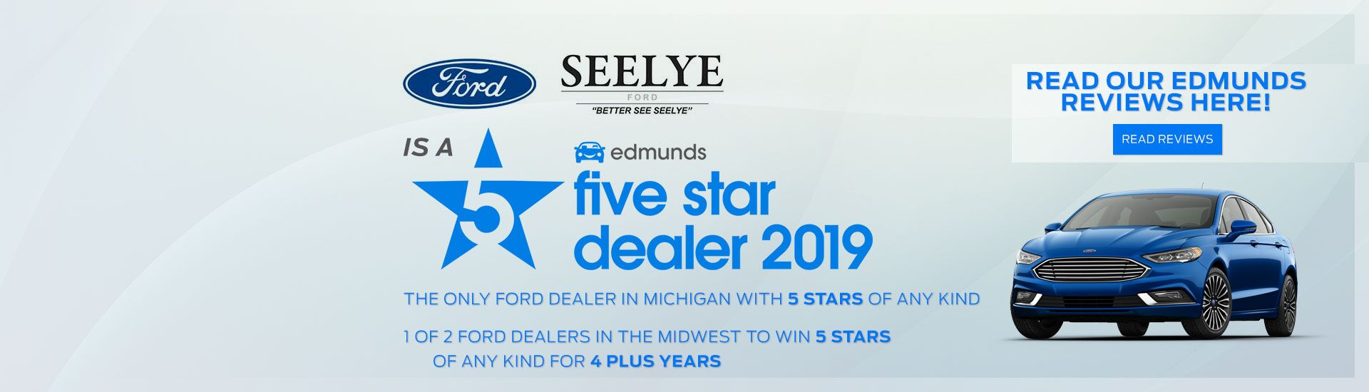 Edmunds 5 Star Dealer