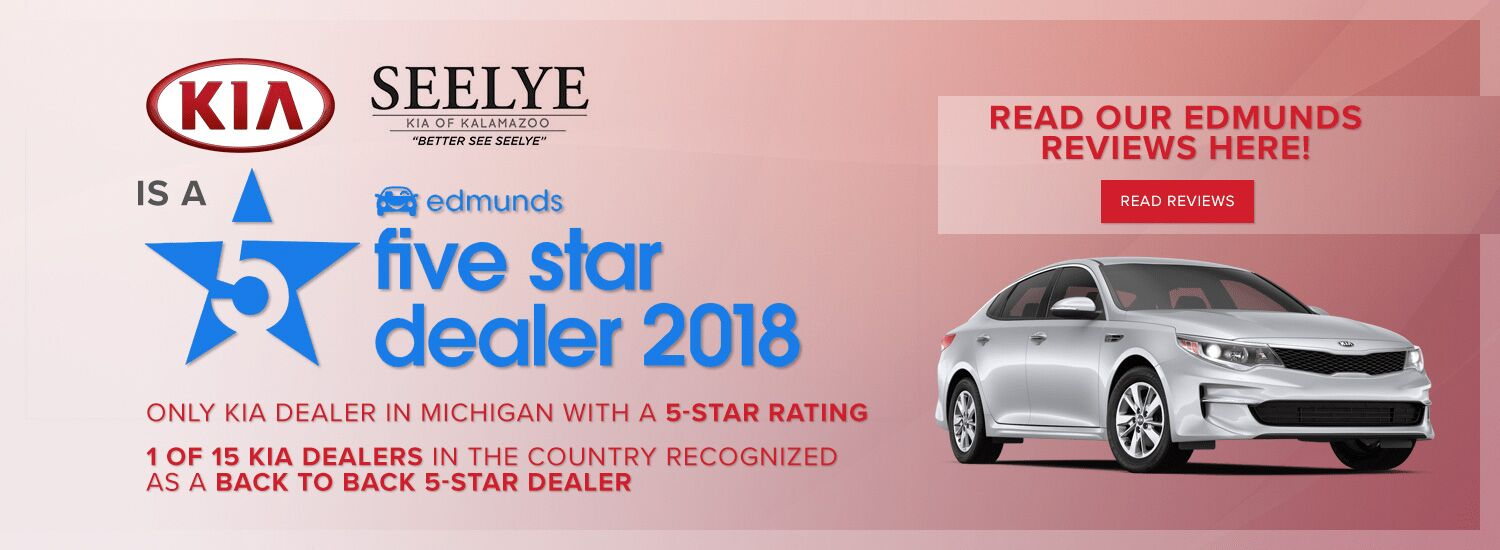 Edmunds Five Star Dealer Award