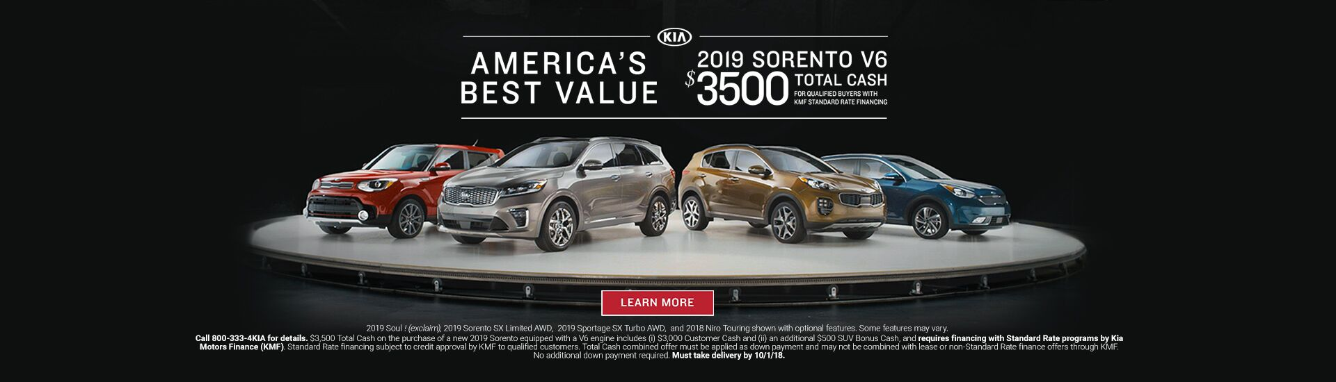 America's Best Value 2019 Sorento Seelye Kia of Battle Creek