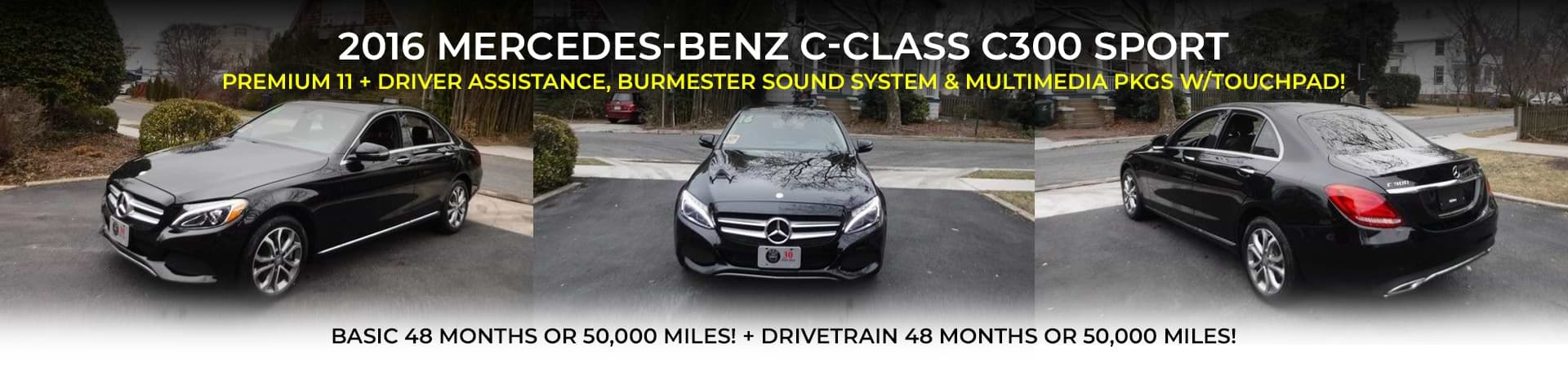 2016 Mercedes-Benz C-Class C300 Sport at WBM of Arlington