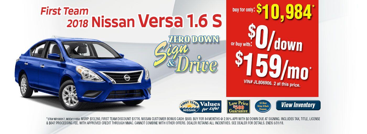 Nissan Dealership Christiansburg VA   Used Cars First Team Nissan of ...