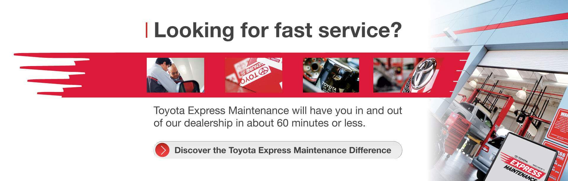Toyota Express Maintenance Parkway Toyota