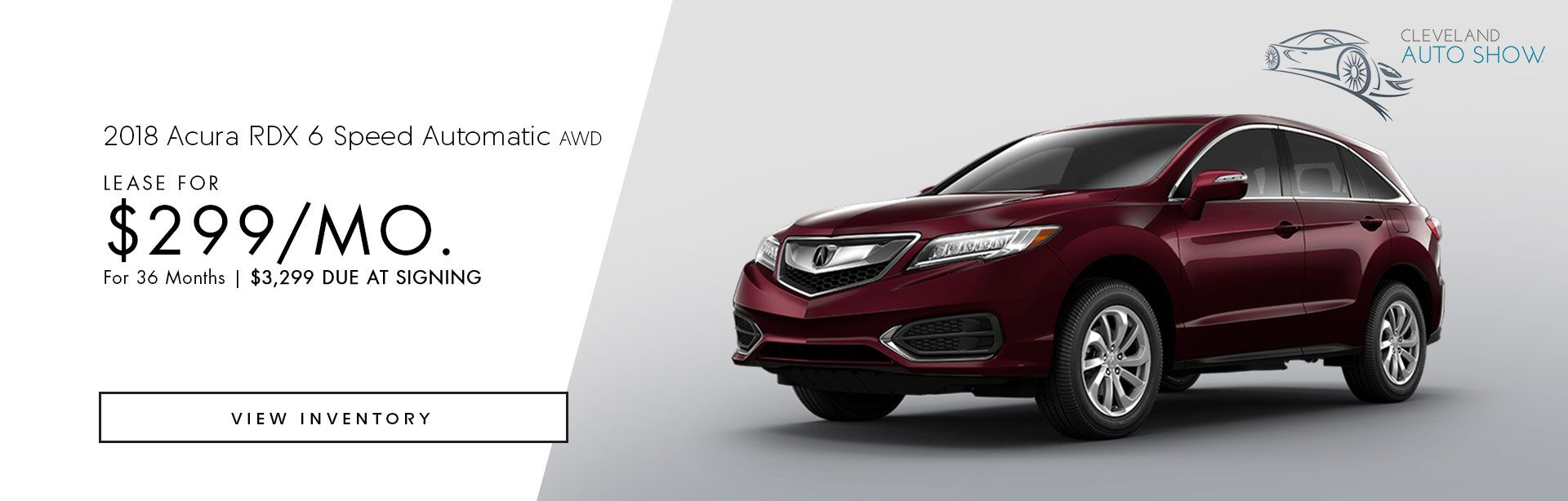 2018 Acura RDX 6 Speed Automatic AWD