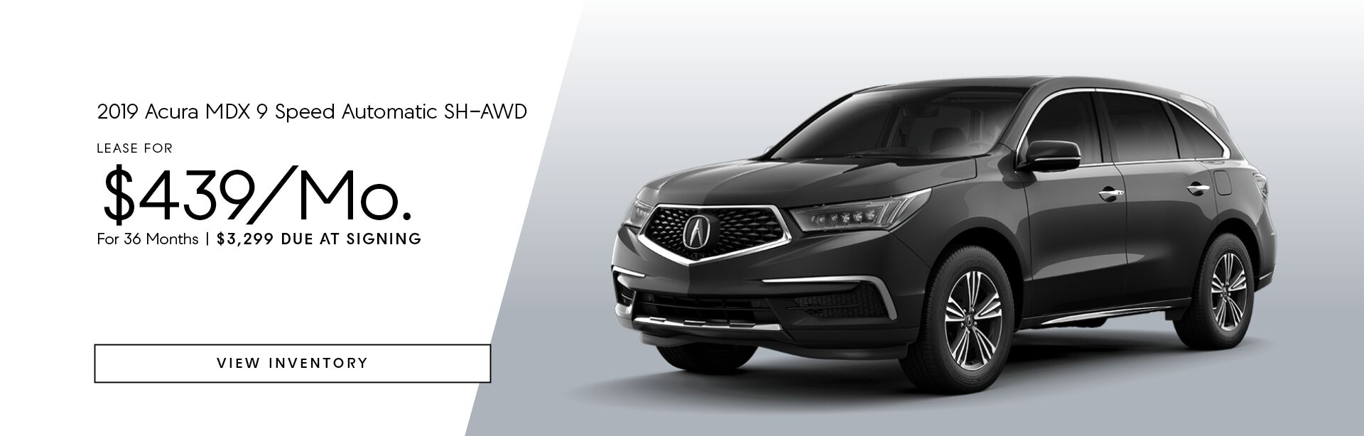 2019 Acura MDX 9 Speed Automatic SH-AWD