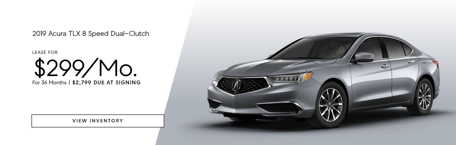 2019 Acura TLX 8 Speed Dual-Clutch