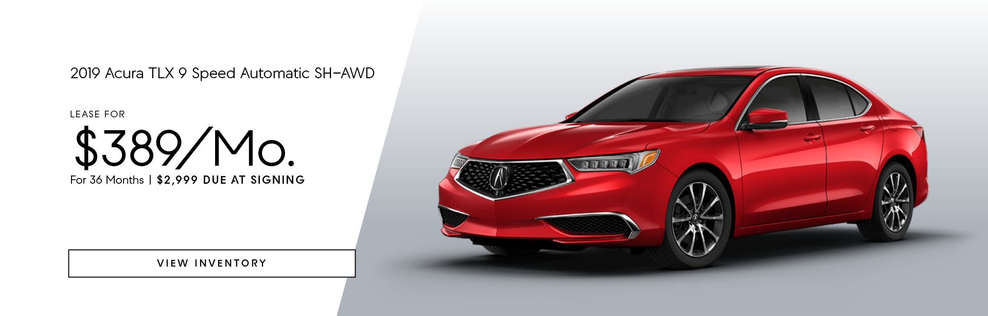 2019 Acura TLX 9 Speed Automatic SH-AWD