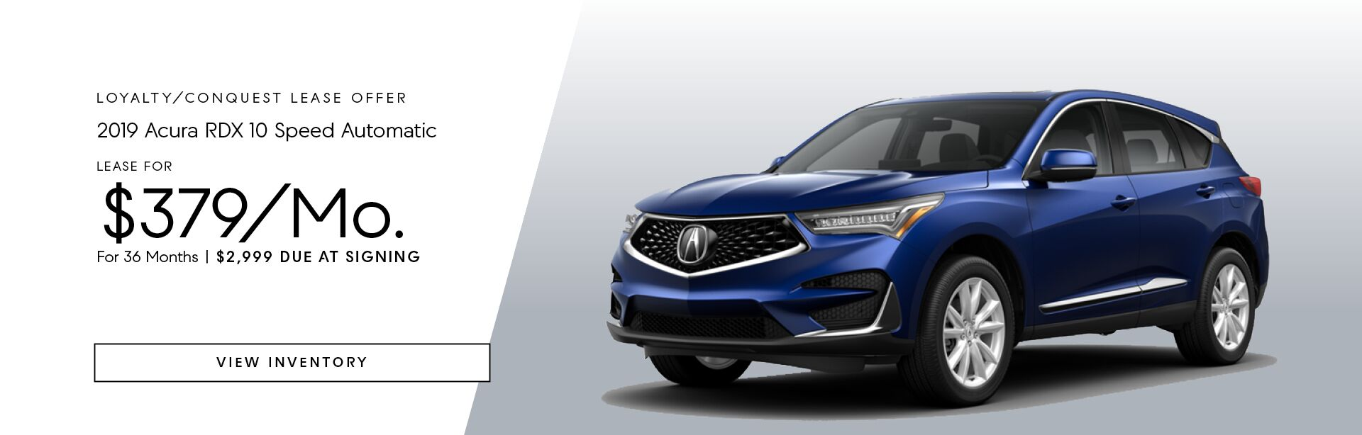 2019 Acura RDX 10 Speed Automatic