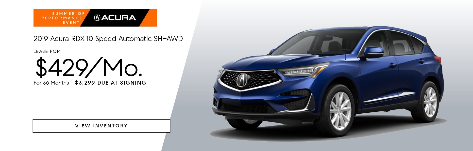 2019 Acura RDX 10 Speed Automatic SH-AWD