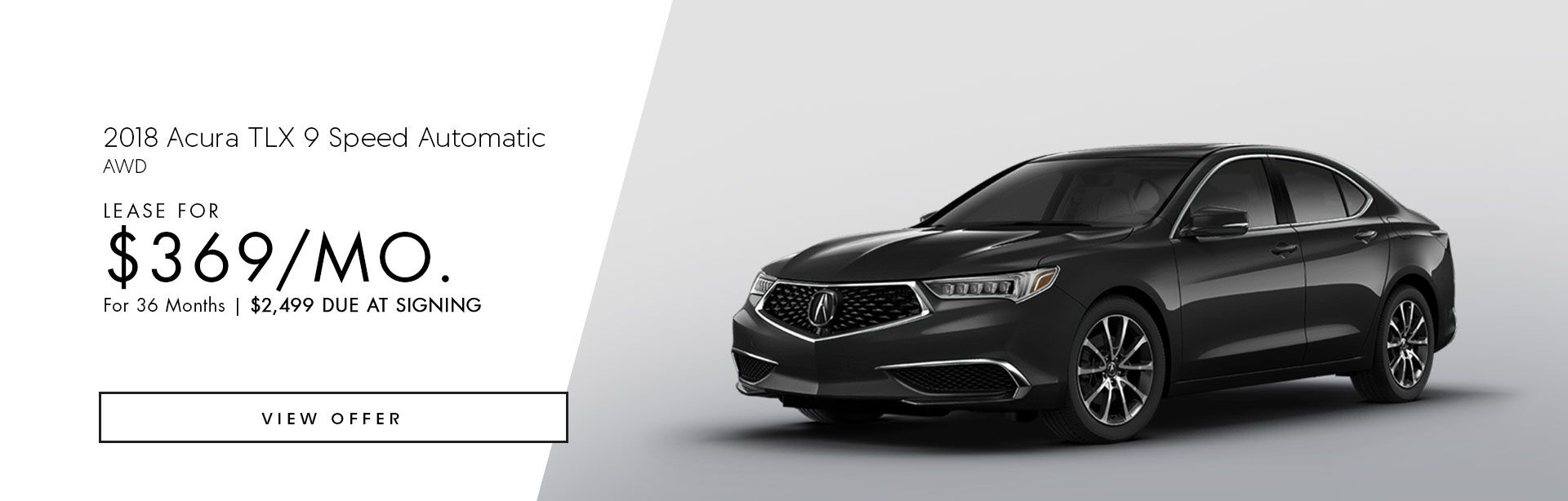 2018 Acura TLX 9 Speed AWD
