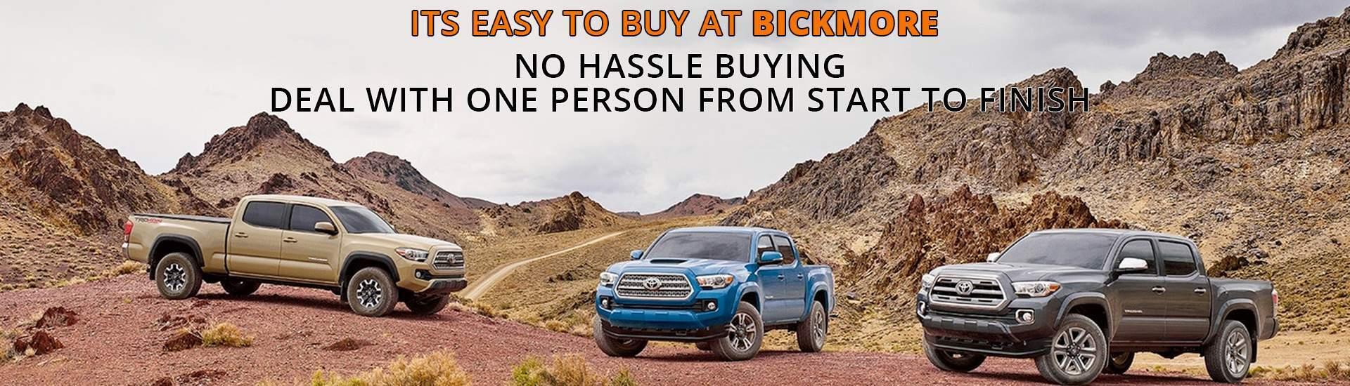Bickmore auto sales