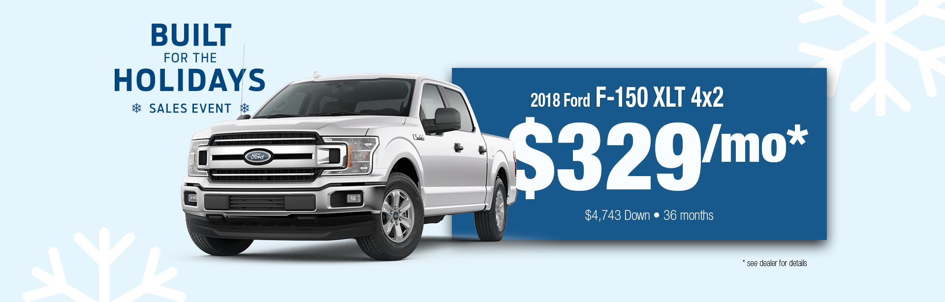 2018 ford f 150 built for the holidays