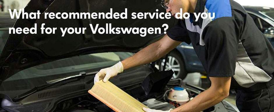 Earnhardt Volkswagen Maintenance Menu
