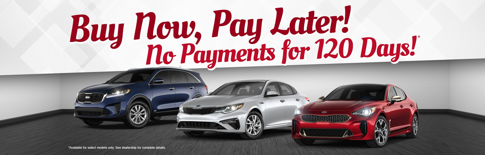 No Payments 120 days