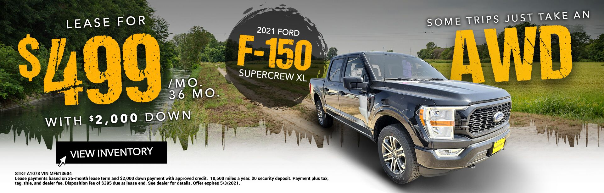 2021 Ford F-150 Supercrew XL