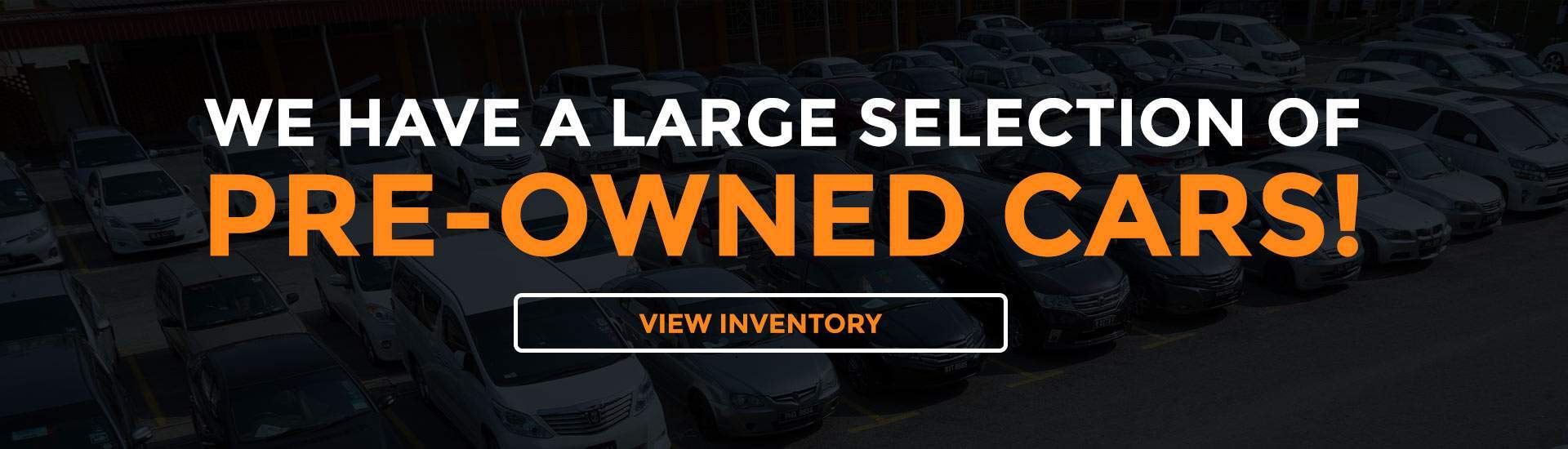 Pre-Owned Cars!