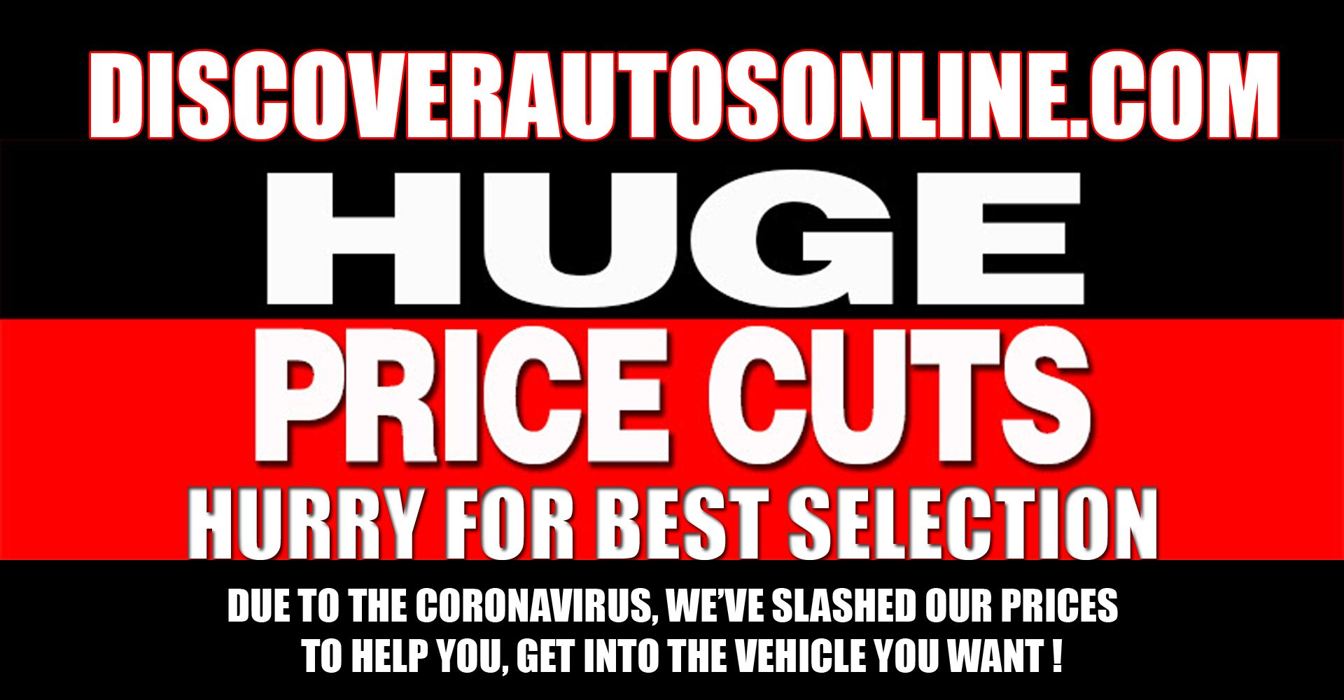 HUGE PRICE CUTS